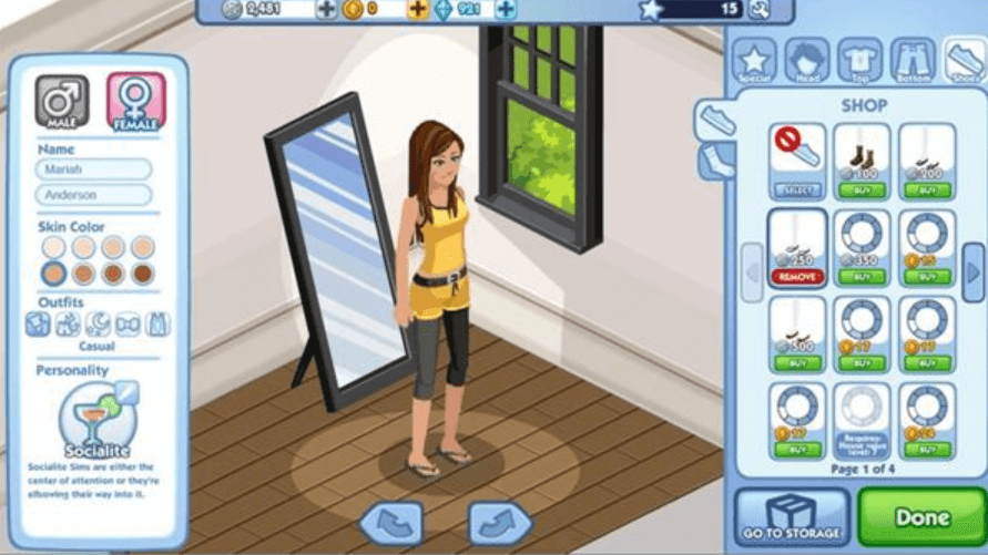 Review of The Sims Social – A Virtual Life Simulation Game Worth Playing
